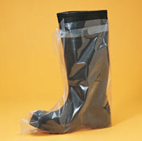 Polypropylene Shoe Covers Skid Free Sole XL